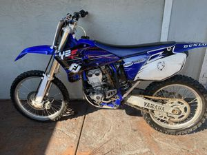 2003 yz250f dirtbike 2022 green sticker for Sale in Pittsburg, CA