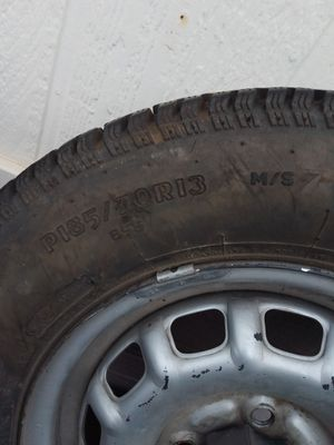 Toyota tires and steel rims PI85/70R13 for Sale in Woodburn, OR