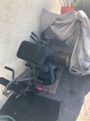 Bench & weights for Sale in Santa Ana, CA