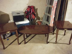Coffee Table and End Tables for Sale in Reedley, CA