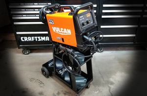 BRAND NEW - Vulcan MigMax 140 Wirefeed Mig Welder W/ Cart! for Sale in Portland, OR