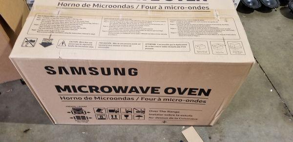 Samsung Microwave Over the Range