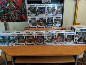 Kingdom hearts pop collection for Sale in Hopedale, MA