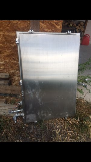 Stainless steel electrical panel. Be a cool ammo case for Sale in Montrose, CO
