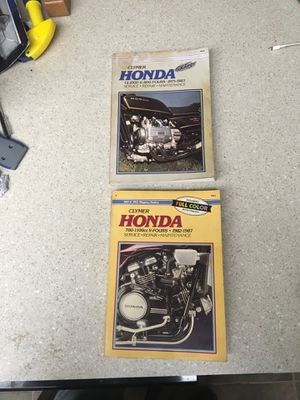Clymer Honda Repair Manuals for Sale in Saint Petersburg, FL