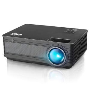 """New Projector, WiMiUS P18 Upgraded 4200 Lumens LED Projector Support 1080P 200"""" Display 50,000H LED Compatible with Amazon Fire TV Stick Laptop iPhon for Sale in Orlando, FL"""