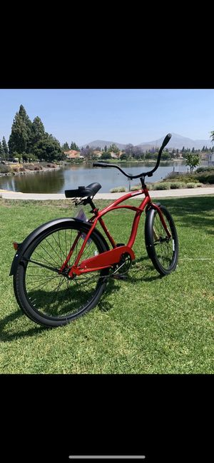 "New comfortable 😎 beach cruiser bike bicycle men's 26"" standard for Sale in Chula Vista, CA"