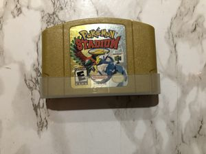 Nintendo 64 N64 Game Pokémon Stadium 2 for Sale in Silverado, CA