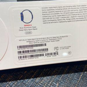 Apple Iphone Watch Series 6 GPS + Wifi Blue for Sale in Philadelphia, PA