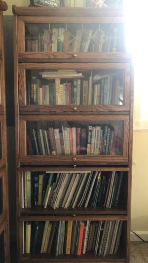 Wooden Bookshelves (2) for Sale in Willingboro, NJ