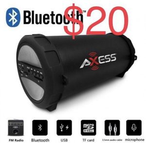 New Axess Bluetooth speaker for Sale in El Monte, CA
