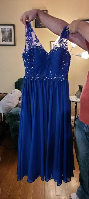 Blue prom dress - size 3/4 for Sale in Bothell, WA