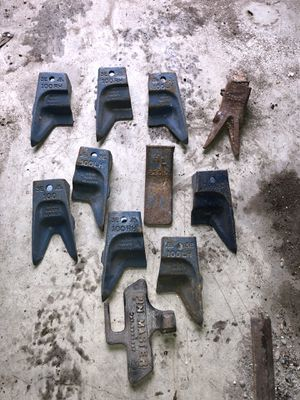 Backhoe bucket rock teeth for Sale in Garland, TX