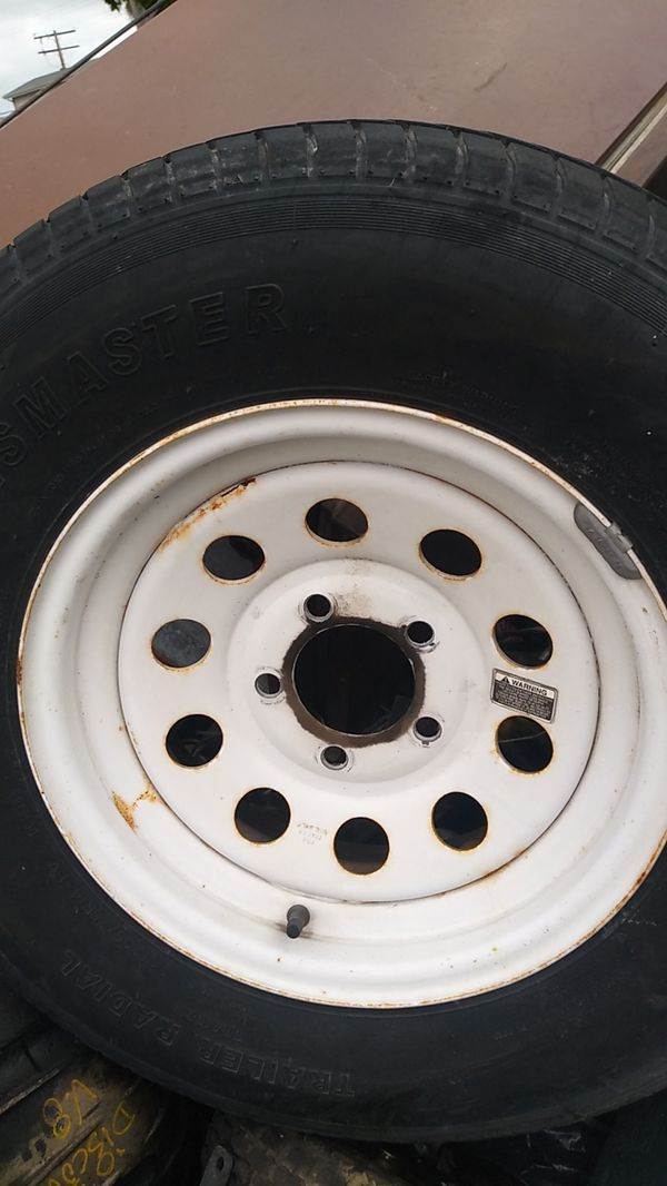 Trailer or Tow Dolly tires( set of 2) 205/75/R14 forsale $70