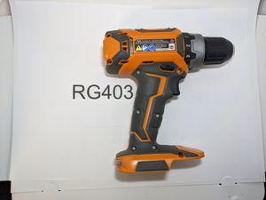 Rigid 18V Cordless 2-Speed 1/2 in. Compact Drill/Driver for Sale in Sacramento, CA