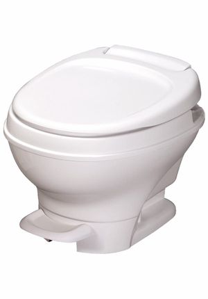 Aqua-Magic V RV Toilet Pedal Flush / Low Profile / White - Thetford for Sale in Miami, FL