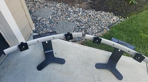 Ergotron spring loaded adjustable curved dual monitor stands. for Sale in Vancouver, WA