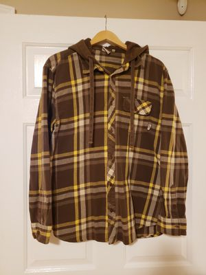 VANS OFF THE WALL Flannel Hoodie Sz XL for Sale in Temple City, CA