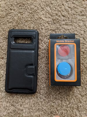 Samsung s10 case with mobile bracket for Sale in Kansas City, MO