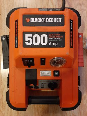 BL ACK AND DECKER JUMP STARTER/COMPRESSOR for Sale in Chicago, IL