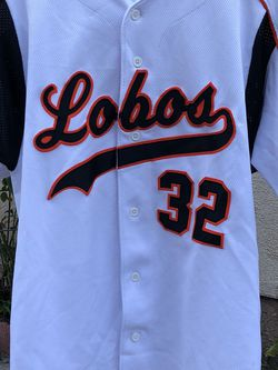 Lobos Baseball Jersey Size Large Equipment Bats Gloves for Sale in Los Angeles,  CA