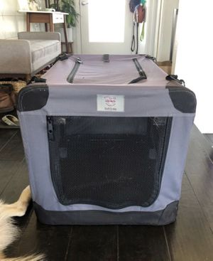 Arf Pets 3-Door Collapsible Soft-Sided Crate, 36-in for Sale in Tempe, AZ