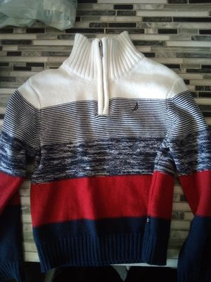 Nautica boys knitted sweater 5t for Sale in Hesperia, CA