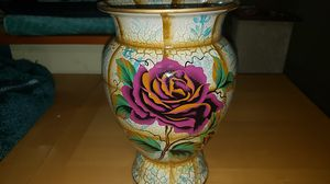 Beautiful large Vase with purple flower for Sale in Upper Darby, PA
