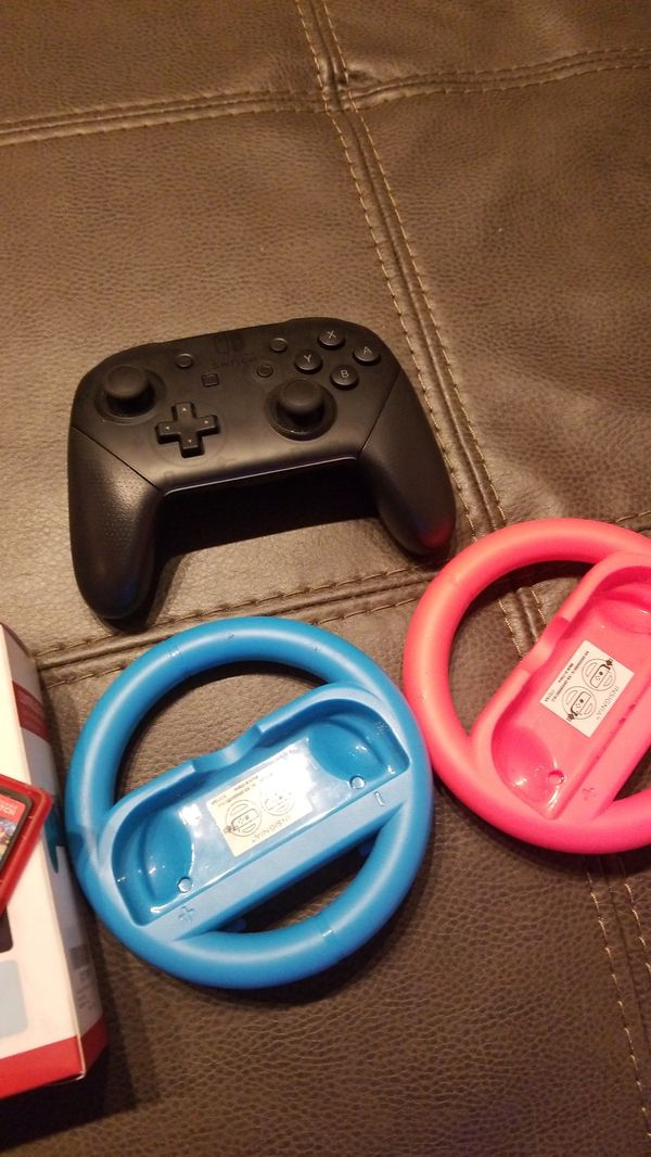 Nintendo Switch-Neon Blue & Red Joy Cons