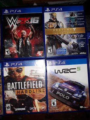PS4 Games $10ea for Sale in Wenatchee, WA