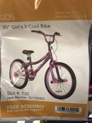 "20"" Kent 2 Cool Girls' BMX Bike, Satin Purple for Sale in Forest Park, GA"
