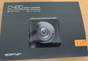 Apeman mini dash cam 1080p full HD wife angle for Sale in Yorba Linda, CA