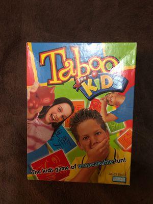 Taboo Kids game for Sale in Scottsdale, AZ