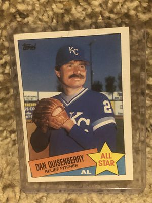 Dan Quisenberry for Sale in Valley Center, KS