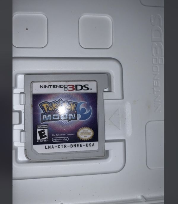New 3DS XL with 8 Games Pokemon Dragon Ball Z