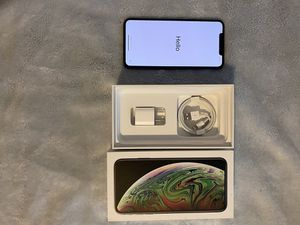 Apple iPhone XS Max - 64 GB - Space Gray (Unlocked) A1921 (CDMA + GSM) for Sale in Ashton-Sandy Spring, MD