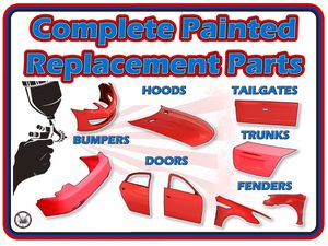 Painted auto body parts for Sale in Azusa, CA