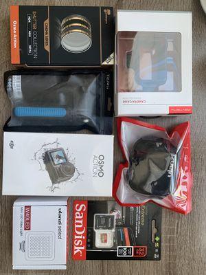 Brand new DJI Osmo Action Camera VLOGing Bundle for Sale in Arlington, VA