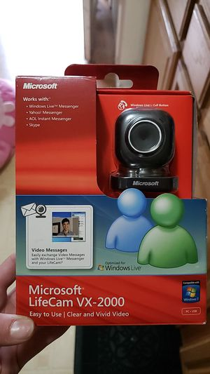 NEVER OPENED MICROSOFT LIFE CAM for Sale in Tacoma, WA