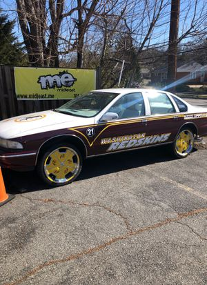 1995 Chevy caprice Redskins car for Sale in Alexandria, VA