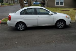 2008 white Hyundai Accent for parts for Sale in Portland, OR