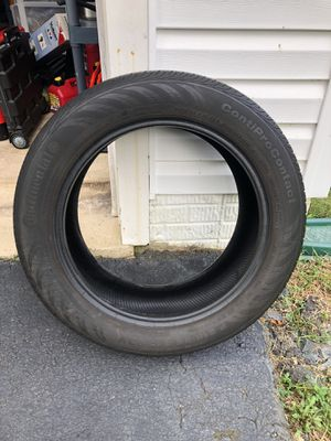 Continental ContiPro Contact 215/55R17 Spare Tire Lots of Tread Left for Sale in Manassas, VA