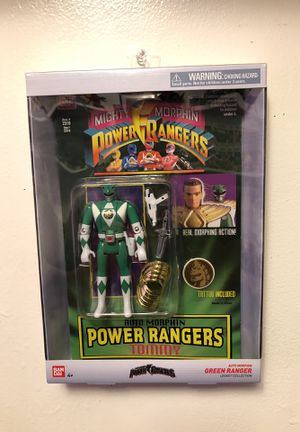 Mighty morphing Power Rangers Green ranger for Sale in Santa Clara, CA