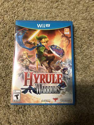Hyrule Warriors - Wii U for Sale in Tulsa, OK
