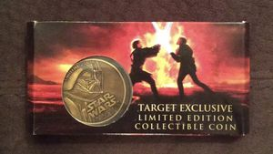 NEW Star Wars Episode III Revenge of the Sith Limited Edition Collectible Coin BRAND NEW FACTORY SEALED Authentic Disney Sci-Fi Kids Children's Famil for Sale in Phoenix, AZ