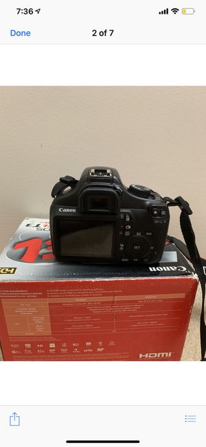 canon rebel t3 NEED GONE for Sale in Silver Spring, MD