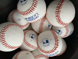 Rawlings baseballs (2 dozen) for Sale in Safety Harbor, FL