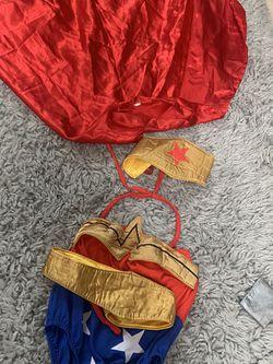 Wonder Women Costume Child Sz2/3 for Sale in San Jose,  CA