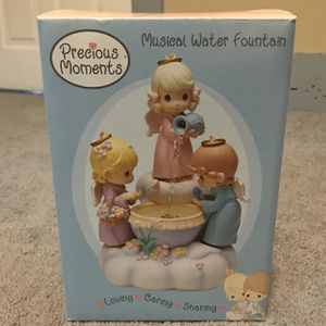 Precious Moments Musical Water Fountain for Sale in Pikeville, NC