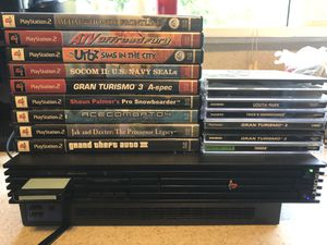 PS2 bundle also comes with remotes for Sale in Montesano, WA
